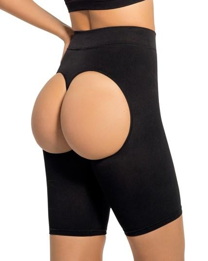 04a0a452b9 Butt-Lifting High Waisted Short Ref 703-1Colombian shapewear-Waist ...