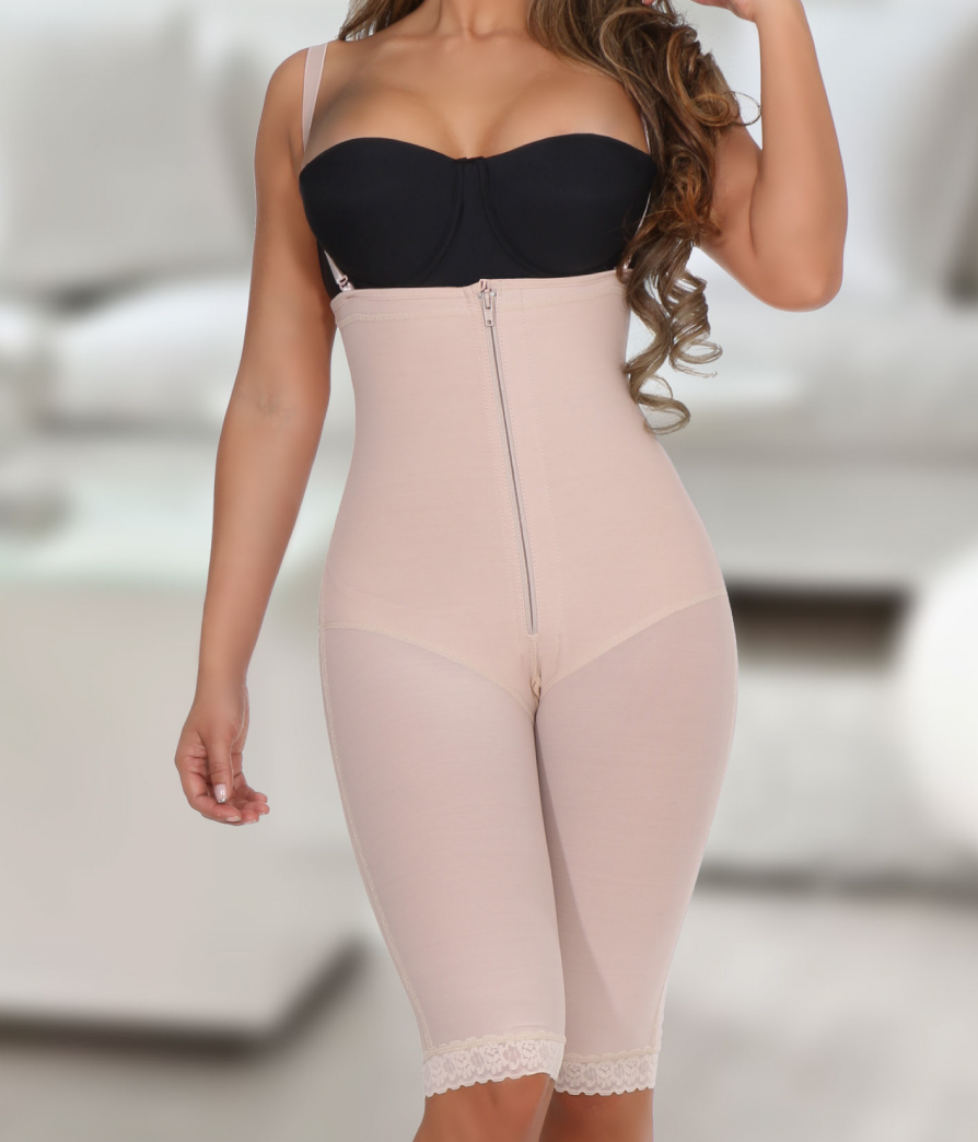 07703f603 Post-Surgery Strapless Full Body Shaper 783- By AnnamaryeColombian ...