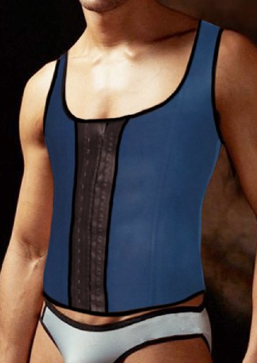 MEN'S WORKOUT THERMAL LATEX VEST 756M