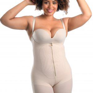 Tummy control body short