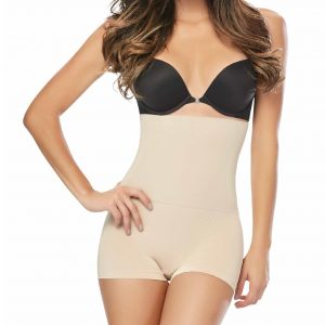 SEAMLESS BODY SHAPER HIGH WAIST BIO-CRYSTALS BOXER 3500